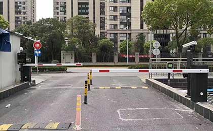 浙江绍兴停车场管理系统设备安装案例