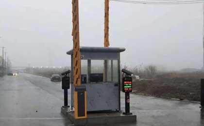 台州停车场管理系统设备安装案例