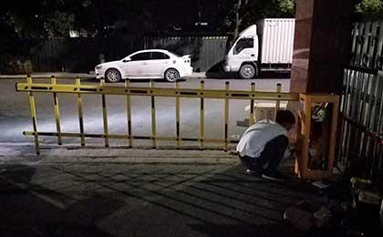 浙江道闸安装案例