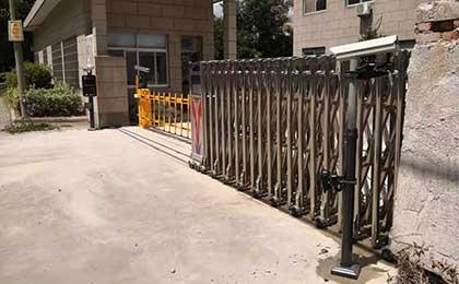 绍兴停车场管理系统设备安装案例